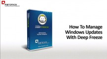 How To Manage Windows Updates With Deep Freeze