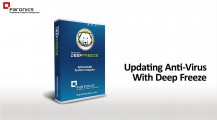 Updating Anti-Virus With Deep Freeze