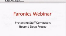 Webinar: Protecting Staff Computers Beyond Deep Freeze